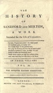 Cover of: The history of Sandford and Merton by Day, Thomas