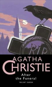 Cover of: After the Funeral by Agatha Christie