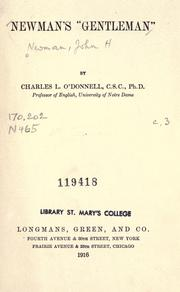 Cover of: The idea of a university by John Henry Newman