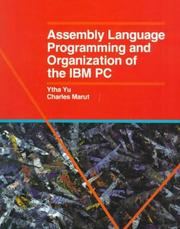 Assembly Lang Programming and Organization of the Ibm PC Ytha Y. Yu
