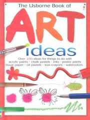 Cover of: The Usborne Book of Art Ideas by Fiona Watt