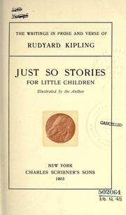 Cover of: The  writings in prose and verse of Rudyard Kipling by Rudyard Kipling