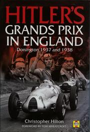 Cover of: Hitler's Grands Prix in England by John Harold Haynes