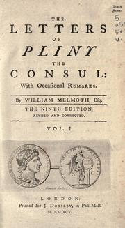 Cover of: The letters of the younger Pliny by Pliny the Younger