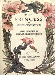 Cover of: The princess by Alfred, Lord Tennyson