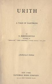 Cover of: Urith by Baring-Gould, S.