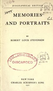 Cover of: Memories and portraits by Robert Louis Stevenson