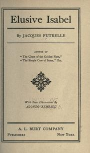 Cover of: Elusive Isabel by Jacques Futrelle