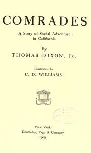 Cover of: Comrades by Dixon, Thomas