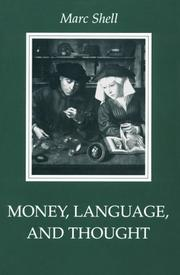 Cover of: Money, language, and thought by Marc Shell