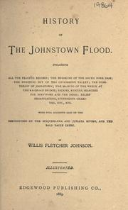 Cover of: History of the Johnstown flood by Willis Fletcher Johnson