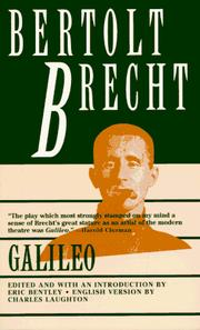 Cover of: Leben des Galilei by Bertolt Brecht