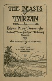 Cover of: The Beasts of Tarzan by Edgar Rice Burroughs
