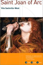 Cover of: Saint Joan of Arc by Vita Sackville-West
