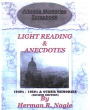 Cover of: Altoona Memories Scrapbook by Herman R. Nagle
