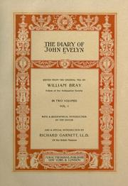 Cover of: Diary by John Evelyn