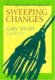 Cover of: Sweeping changes by Gary Thorp