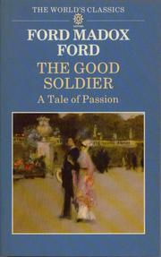 Cover of: The Good Soldier by Ford Madox Ford