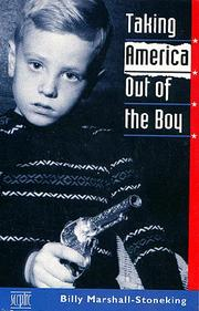 Cover of: Taking America Out of the Boy by Billy Marshall Stoneking