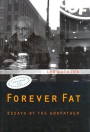 Cover of: Forever fat by Lee Gutkind
