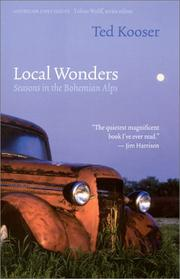 Cover of: Local wonders by Ted Kooser