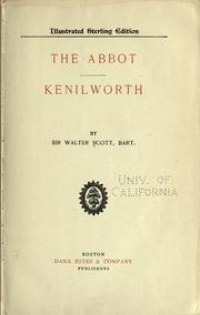 Cover of: The Abbot by Sir Walter Scott