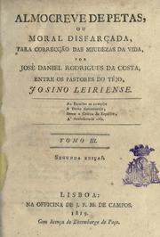 Cover of: Almocreve de petas by José Daniel Rodrigues da Costa