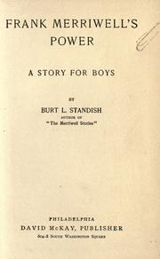 Cover of: Frank Merriwell&#39;s Power by Burt L. Standish