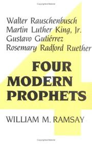 Cover of: Four modern prophets by William M. Ramsay