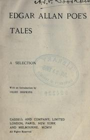 Cover of: Edgar Allan Poe's tales by Edgar Allan Poe