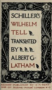 Cover of: Wilhelm Tell by Friedrich Schiller