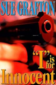 Cover of: I Is for Innocent by Sue Grafton