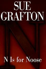 "Cover of: ""N"" is for noose by Sue Grafton"