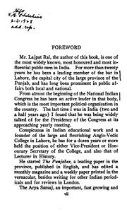 Cover of: Young India by Lajpat Rai Lala