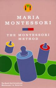 Cover of: Metodo della pedagogia scientifica by Maria Montessori