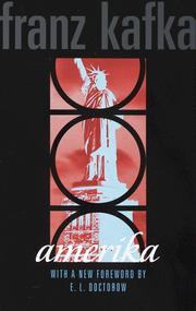 Cover of: Amerika by Franz Kafka