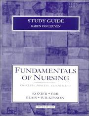 Cover of: Fundamentals of Nursing by Barbara Kozier