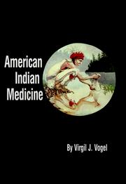 Cover of: American Indian Medicine by Virgil J. Vogel
