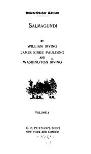 Cover of: Salmagundi by Washington Irving