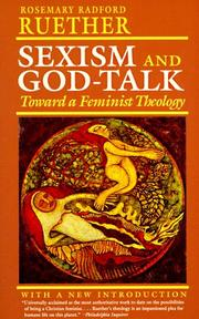 Cover of: Sexism and God-talk by Rosemary Radford Ruether