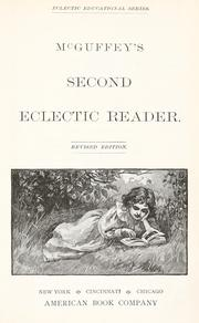 Cover of: McGuffey's second eclectic reader by William Holmes McGuffey
