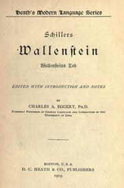 Cover of: Wallenstein by Friedrich Schiller