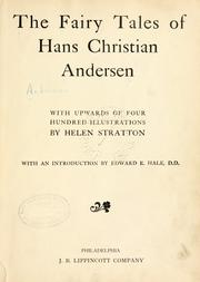 Cover of: The fairy tales of Hans Christian Andersen by Hans Christian Andersen