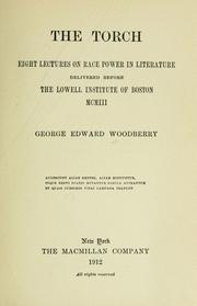 Cover of: The torch by George Edward Woodberry