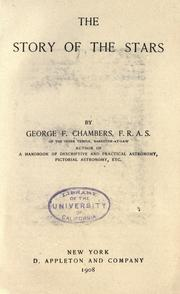 Cover of: The story of the stars by Chambers, George F.