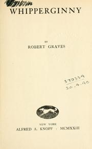 Cover of: Whipperginny by Robert Graves