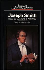Cover of: Joseph Smith by Smith, Joseph