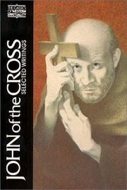 Cover of: John of the Cross by John of the Cross, Kieran Kavanaugh