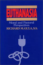 Cover of: Euthanasia by Richard M. Gula