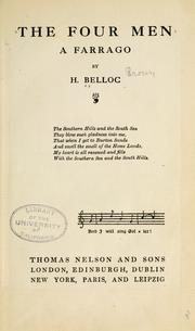 Cover of: The four men by Hilaire Belloc